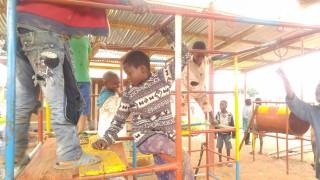 Malawi Behinderte Kinder Spielen